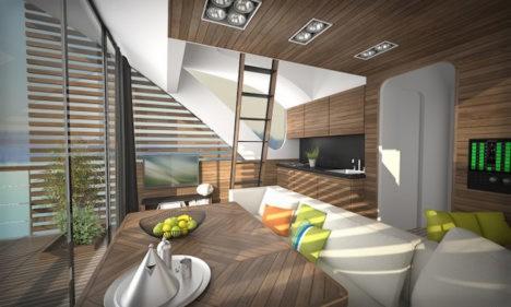 catamaran apartment 3