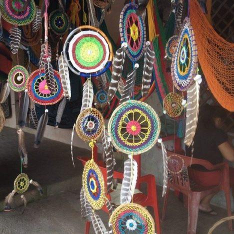 Mayan dreamcatchers