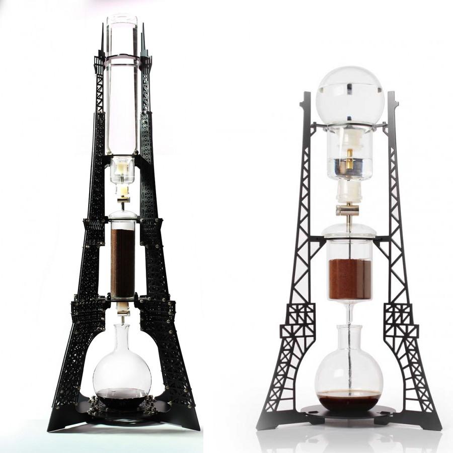 Landmark Brew Eiffel Tower Shaped Slow Drip Coffee Maker