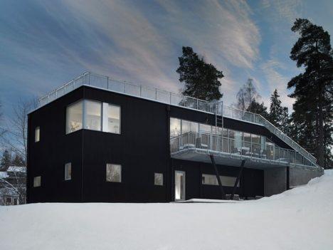passive house design pulkabacken house