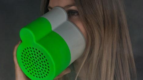 poumon in use