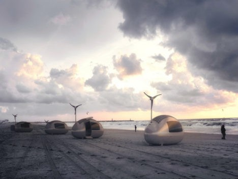 remote location ecocapsules