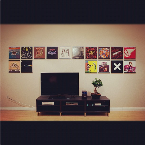 The ultimate vinyl lover decor for Vinyl record wall art