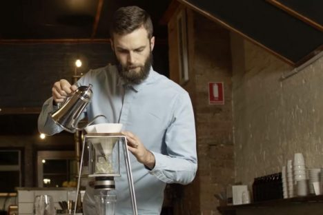 Innovative Coffee Maker is a Triple Treat for Caffeine Addicts