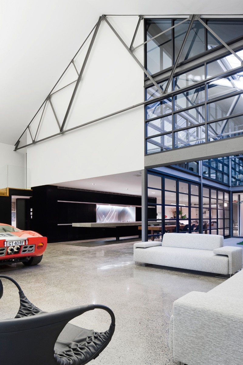 Warehouse To Home Challenging Site Leads To Creative