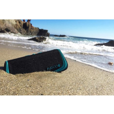 The Fugoo is sand-resistant