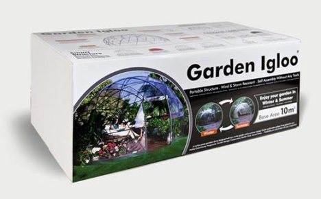 Garden Igloo: easy assembly