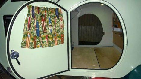 Gidget Retro Camper interior