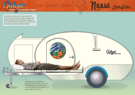 Gidget Retro Camper illustration