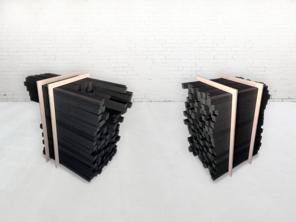 sculptural sink in customizable furniture