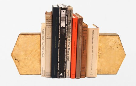 Brass Bookends by Commune Design in L.A.