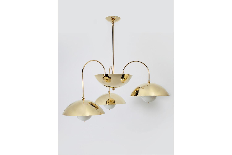 Brass Chandelier by Commune Design