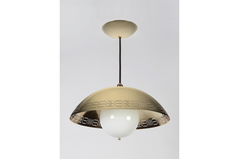 Brass Dome Light