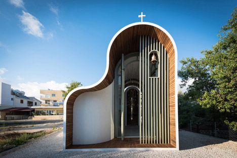 cyprus curved chapel