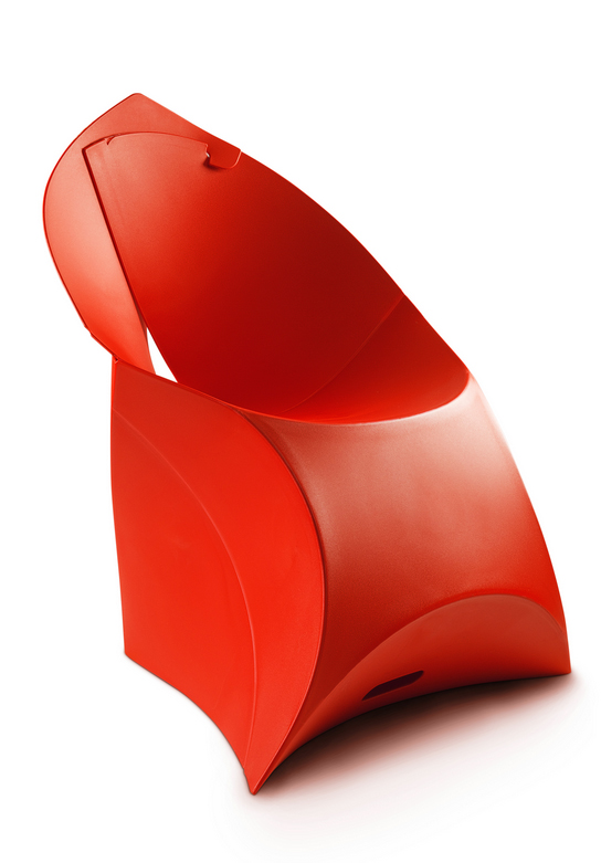 Flux Chair in Red