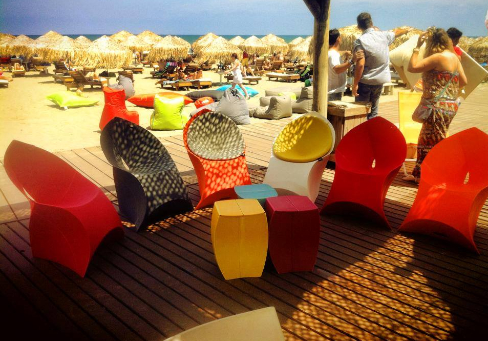 Flux Chairs at the Beach