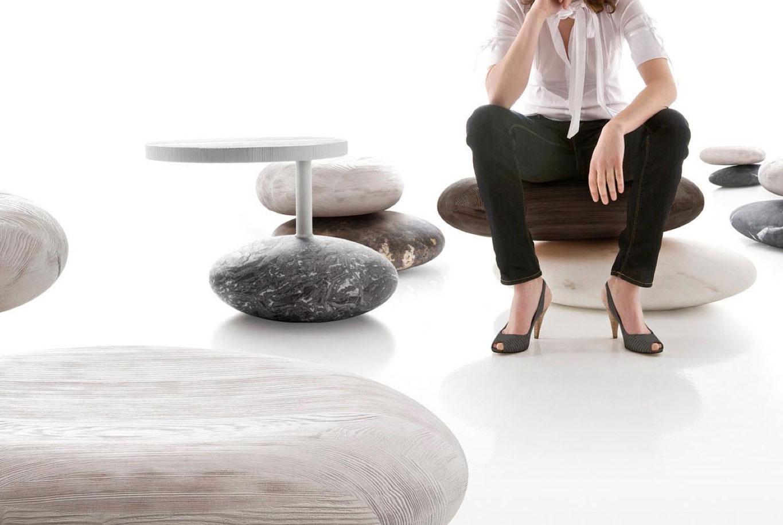 Kreeo marble chairs