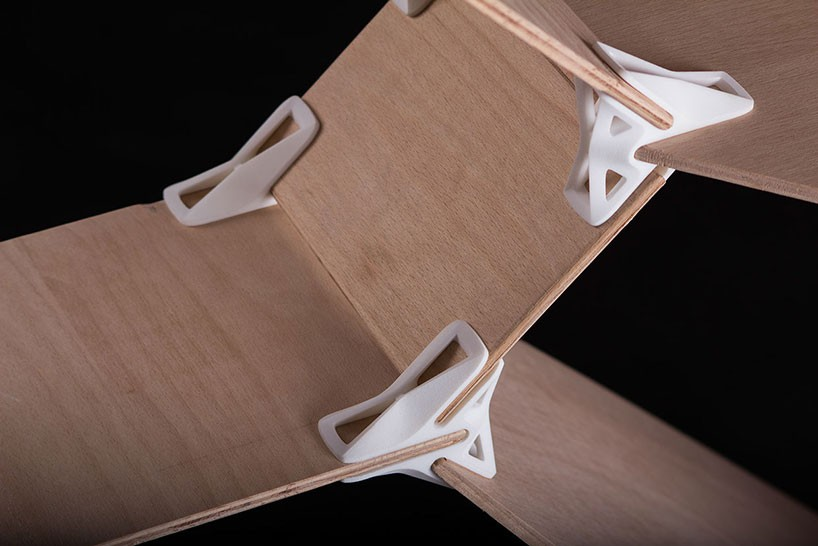 Print to Build: 3D-Printed Joints Make it Easy to Construct Furniture