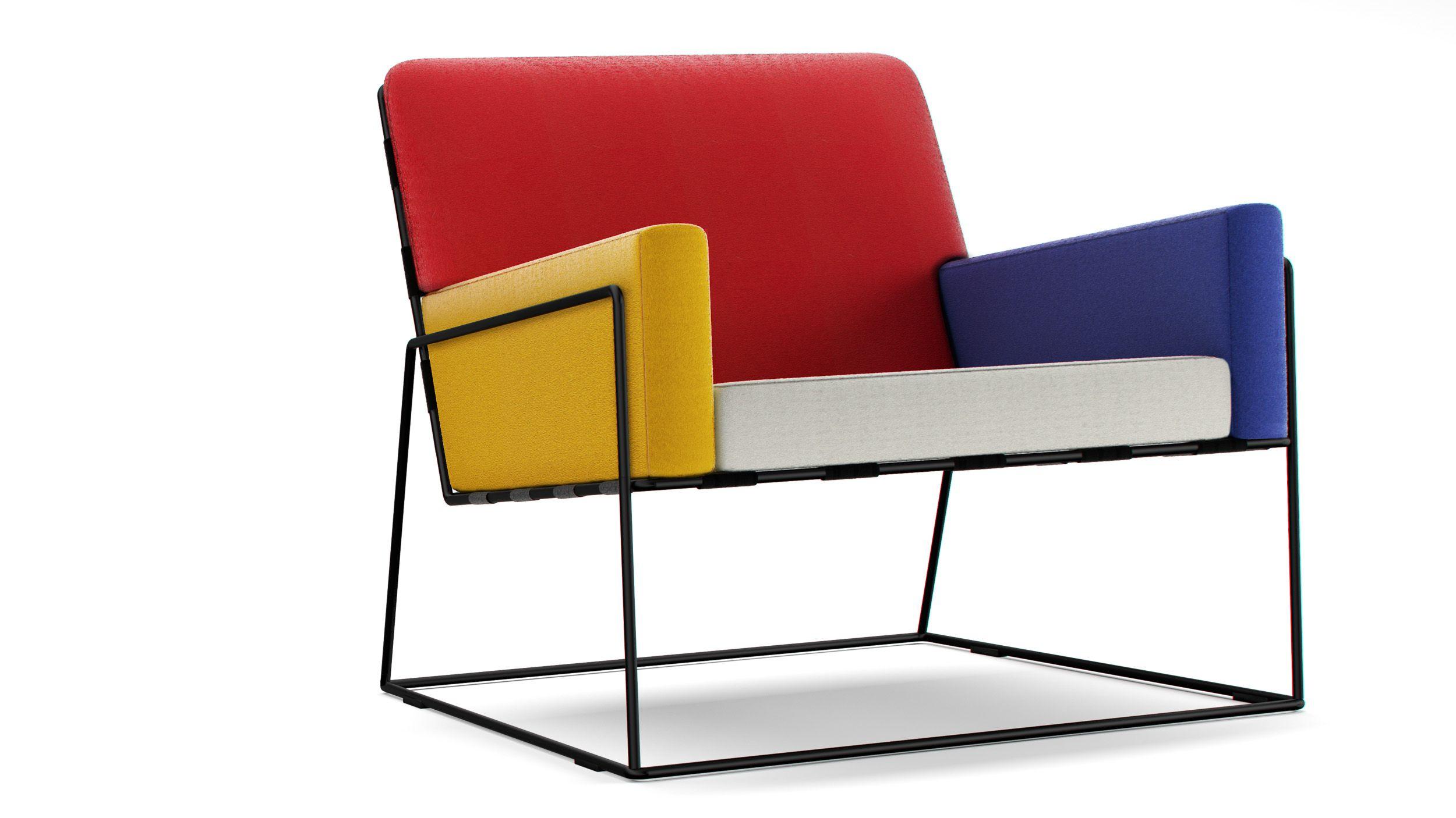 Mondrian Charles Chair