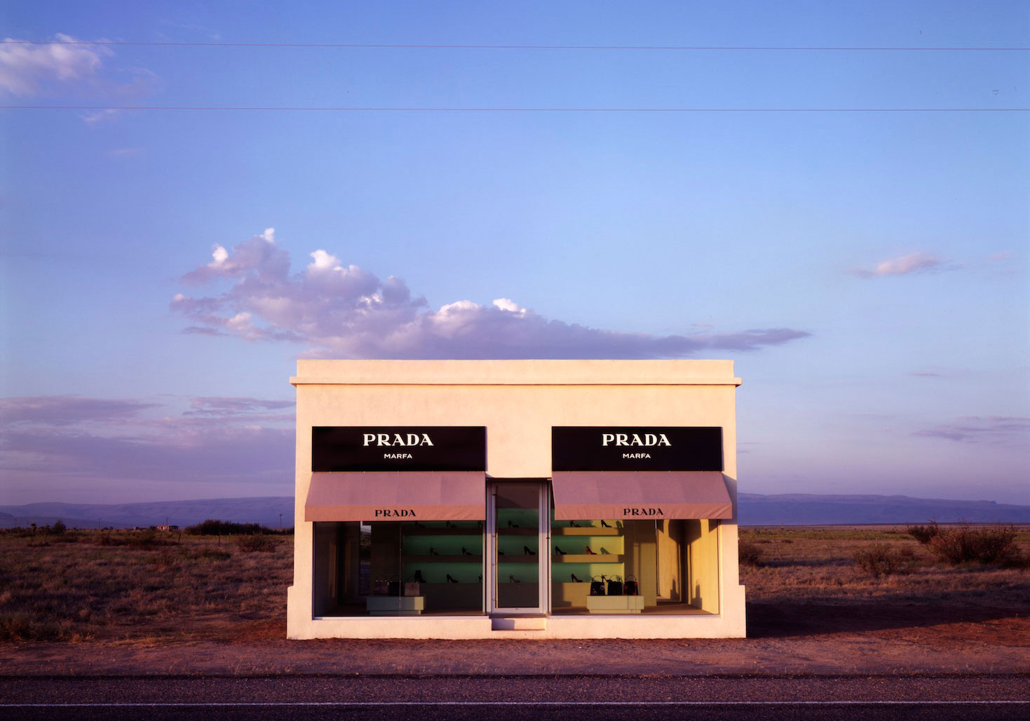 Prada Store in Marfa, Texas