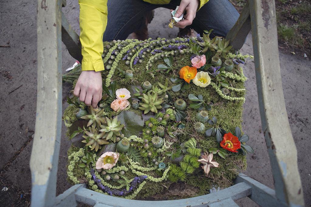 flower-house-seat