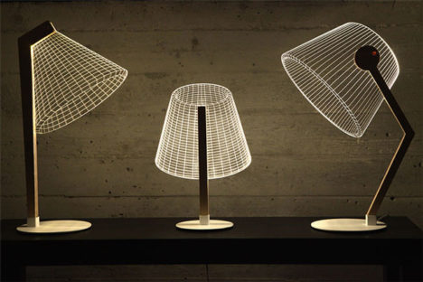 Illuminated Illusion: Clever Lamps That Aren't Really 3D