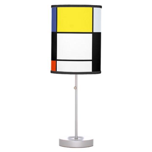 Piet Mondrian Table Lamp