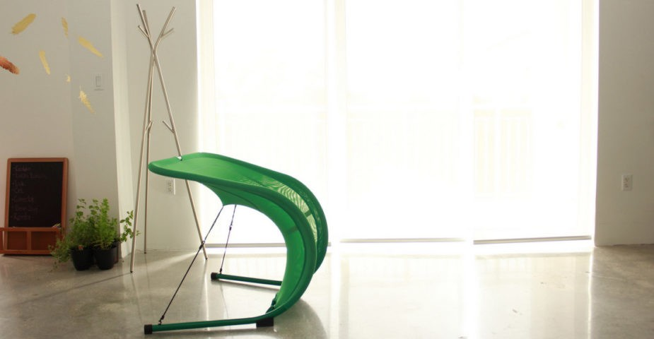 Suzak Chair in green
