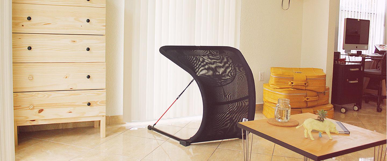 Suzak Chair interior look