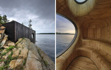 The Grotto Sauna by Partisans