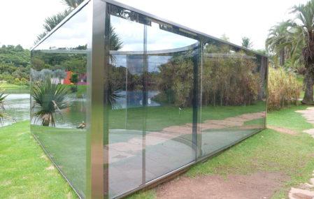 Dan Graham Glass Pavilion in Brazil