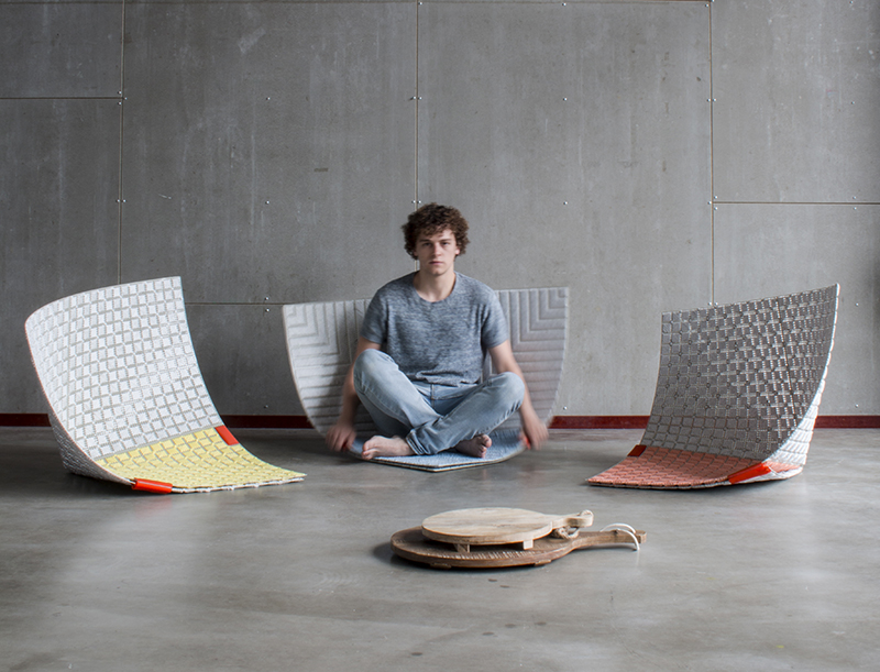 Seating In Seconds Fold These Fun Floor Tiles Into Chairs