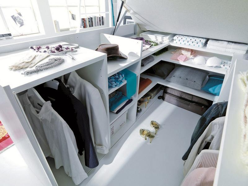 Platform Bed With A Closet Hidden Underneath Designs Ideas On Dornob
