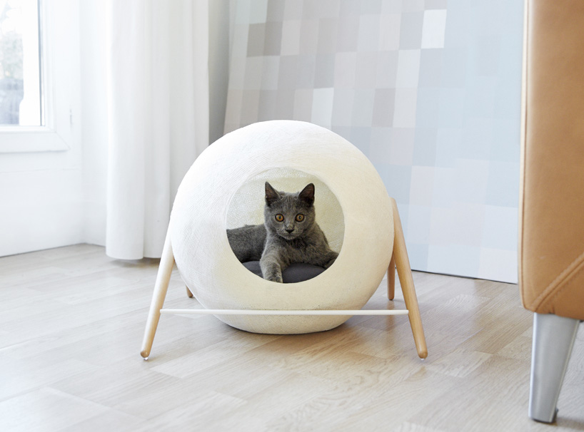 Cat Cocoons Cozy Feline Furniture Fits Into Modern Homes