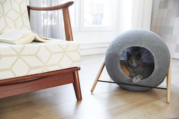 modern cat furniture ball