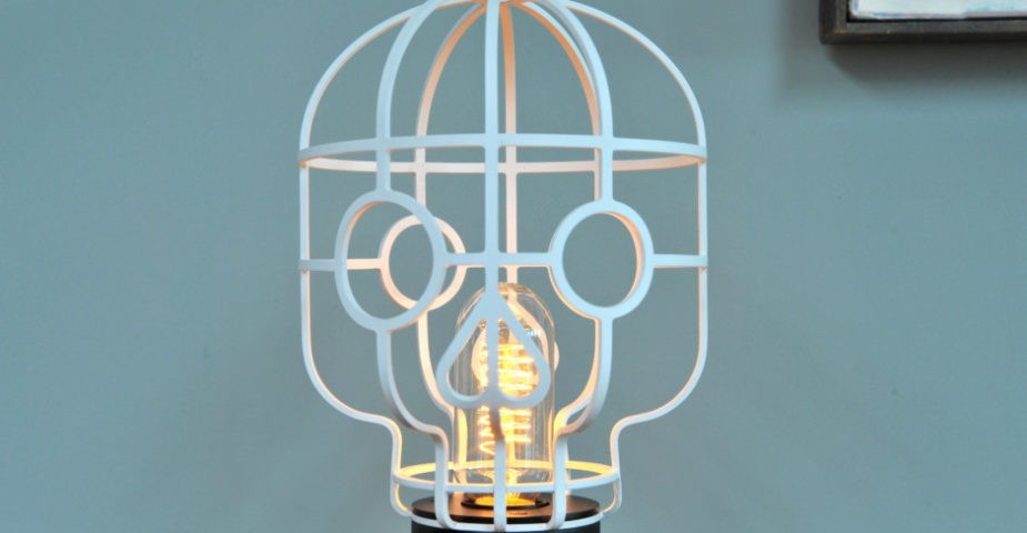 Orphee Skull Lamp