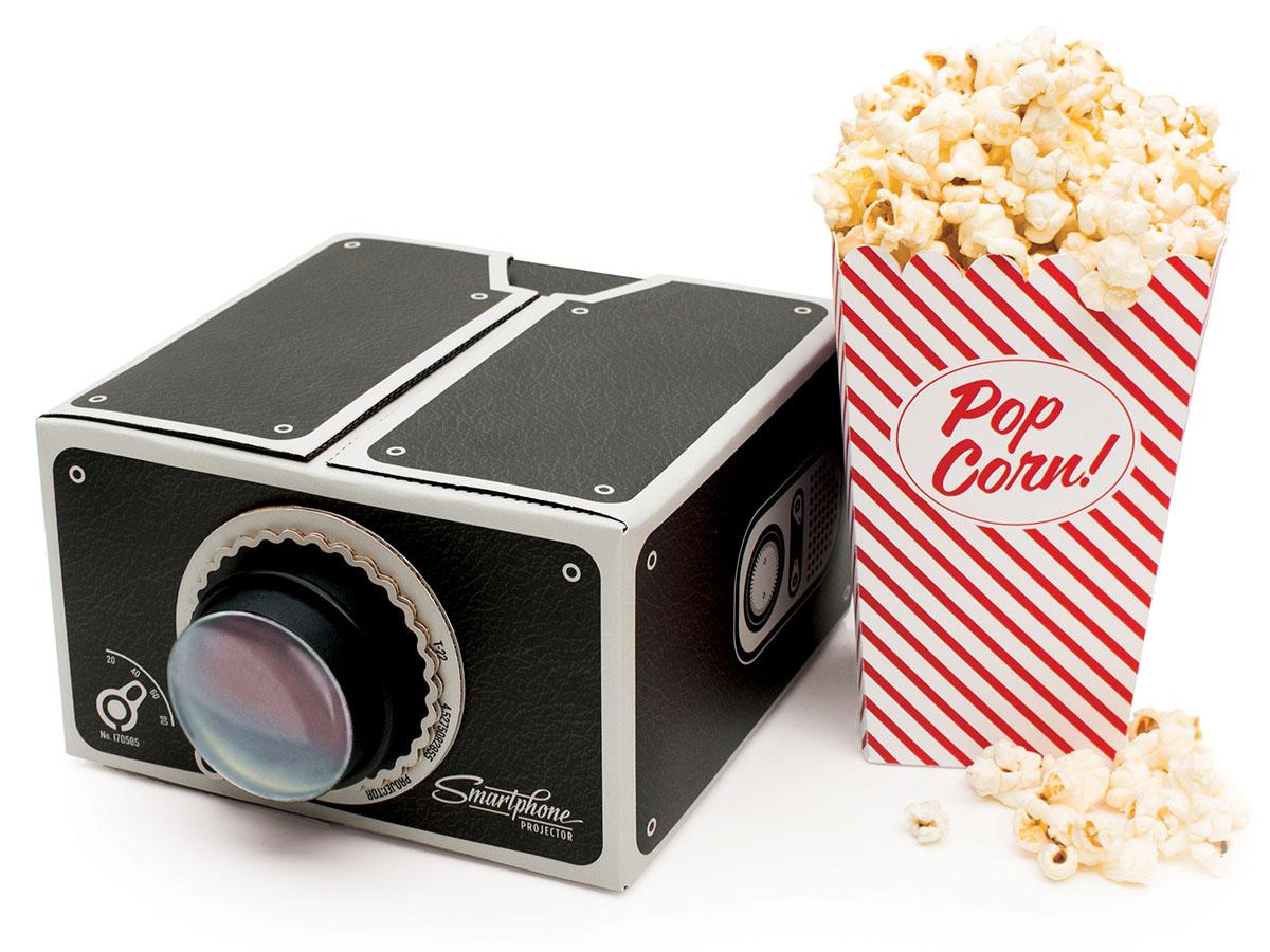 Smartphone Projector: DIY Cinema in a Box