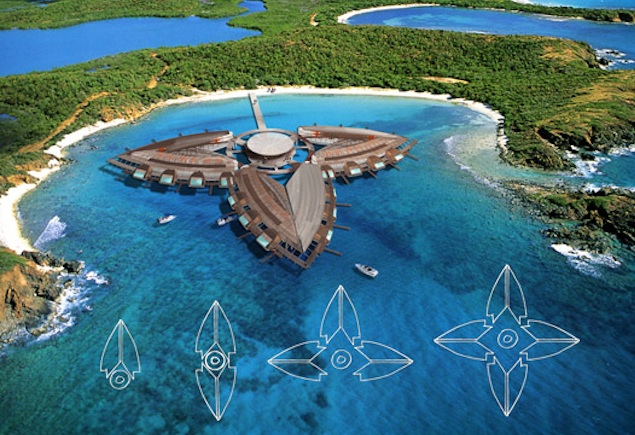 Floating Luxury Hotel concept by Citysurfing