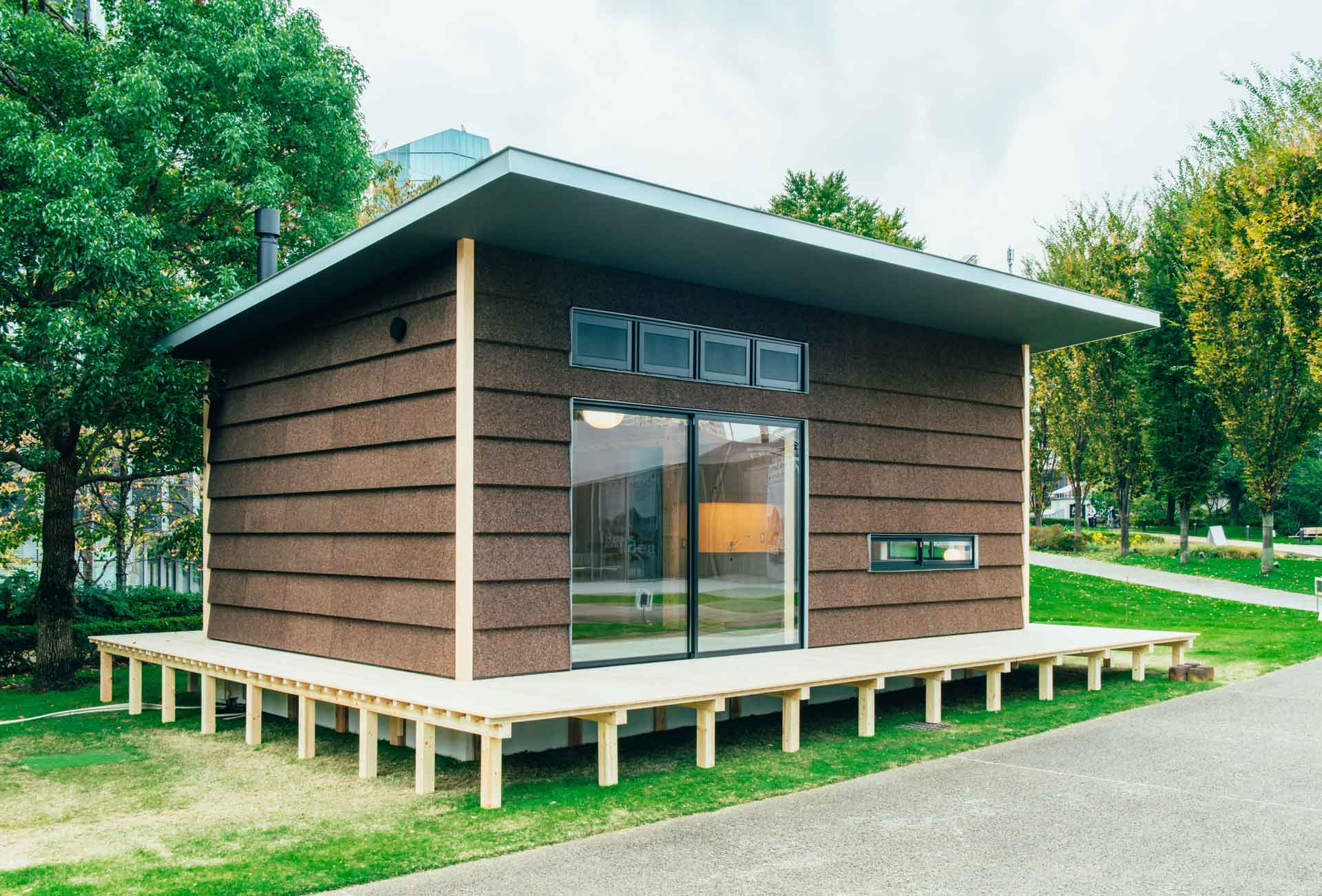 Jasper Morrison's MUJI Cork Hut