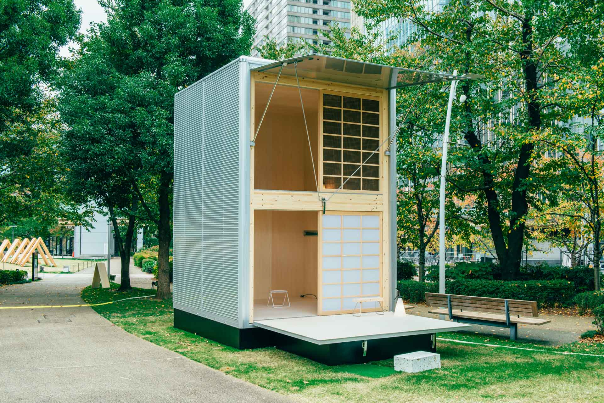 Konstantin Grcic's Hut for MUJI