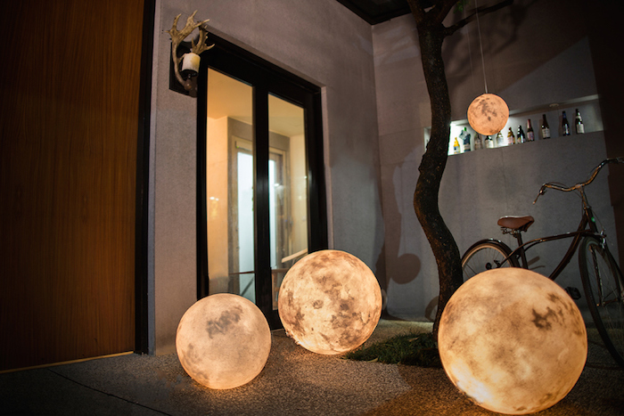 Add some magical ambience with the Luna Lamp by Acorn Studio