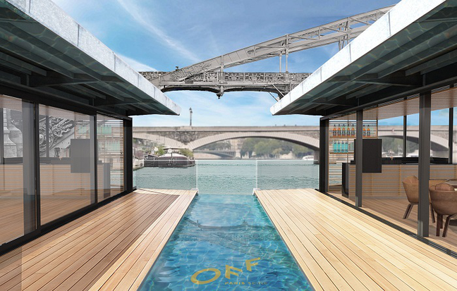 Off Paris Seine: Parisu0027 New Floating Hotel