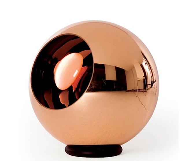 Copper Shade Floor Lamp