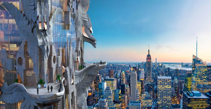 The so-called Khaleesi skyscraper, proposed for NYC