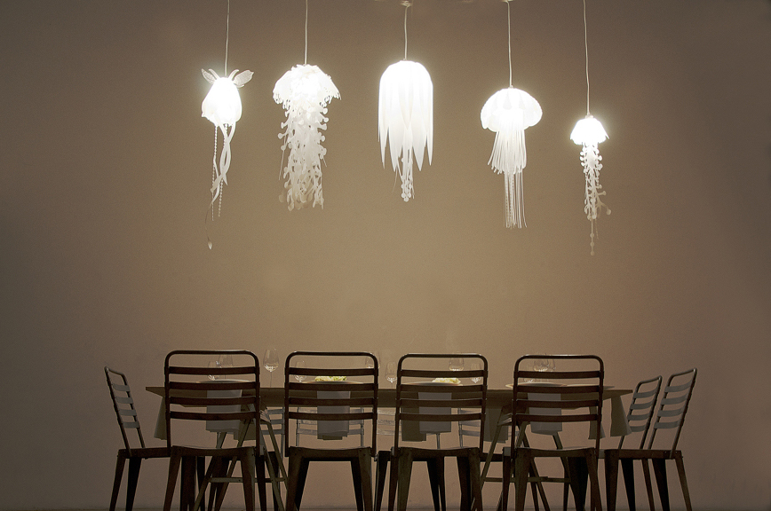 Medusae Ethereal Jellyfish Lamps