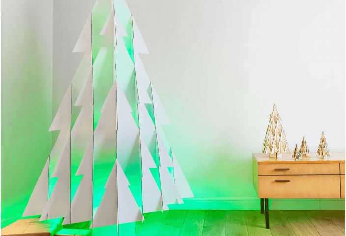 Odenneboom, a stylish alternative to a real Christmas tree