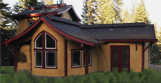 Steve Padgitt Residence, a Straw Bale House