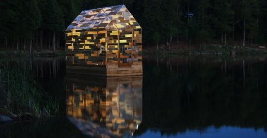 Walden Raft inspired by Thoreau