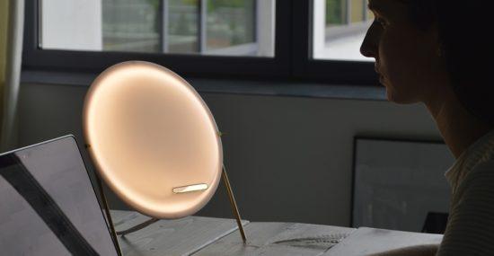 Fabian Zeijler Purificatum: air purifier and lamp