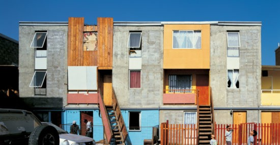 Social housing in Chile by Architect Alejandro Aravena
